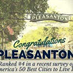Pleasanton, California ranked number 4