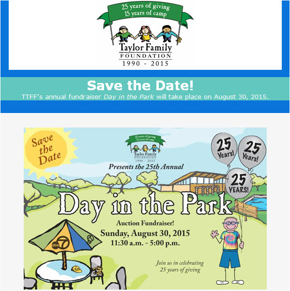 Taylor Family Foundation – Day in the Park