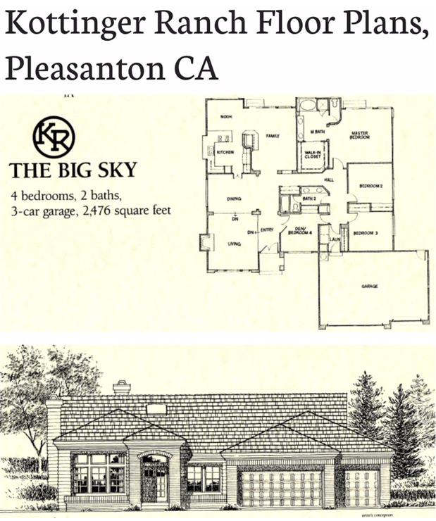 Kottinger Ranch Floor Plans Kottinger Ranch Neighbors